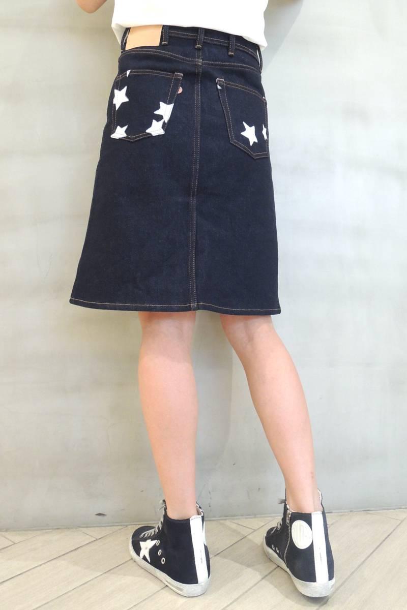 Acne Studios 【30%OFF】スタープリントデニムスカート