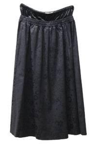 Acne Studios ジャガード花柄フレアースカート [17AW]