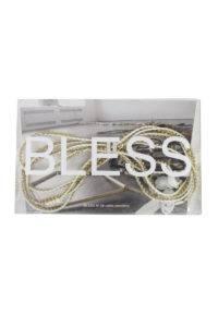 BLESS ラインストーンイヤフォン(GOLD)