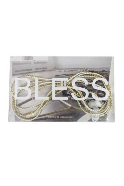 BLESS 【SALE対象外】ラインストーンイヤフォン(GOLD)