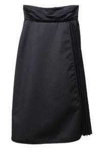 CLEANA 【40%OFF】サイドプリーツラップ風ロングスカート [17AW]
