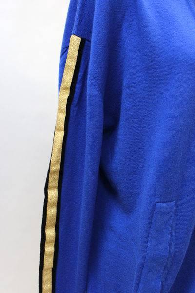 GOLDEN GOOSE DELUXE BRAND 【50%OFF】カシミアワンサイドラインニットパーカー