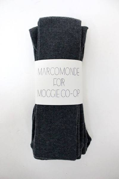 MARCOMONDE 【MOGGIE CO-OP別注】リブタイツ