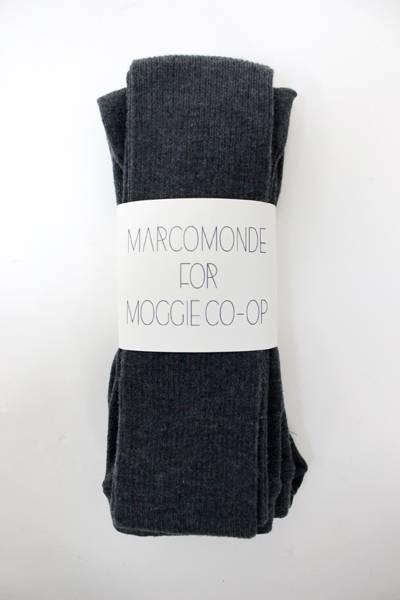 MARCOMONDE 【MOGGIE CO-OP別注】リブタイツ