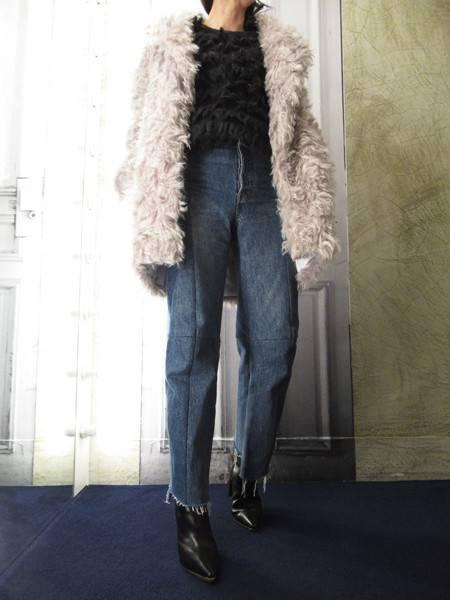 マルジェラのコート。