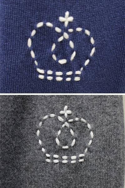 QUEENE and BELLE カシミア裾リブニットパンツ