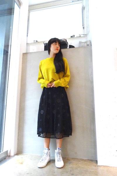 QUEENE and BELLE バックナマステニット [17AW]