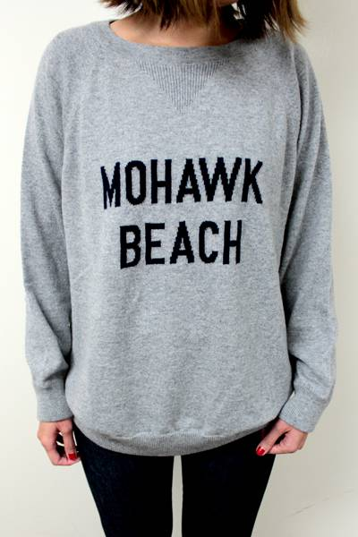 QUEENE and BELLE MOHAWK BEACH ニット