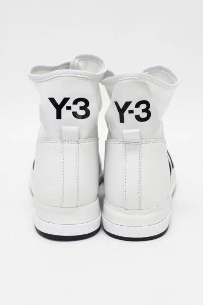 Y-3 【50%OFF】サイドテープラインハイカットZIPスニーカー [ATTA]