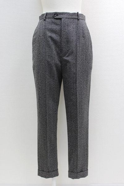 ISABEL MARANT 【50%OFF】ウール裾ダブルセンターシームパンツ