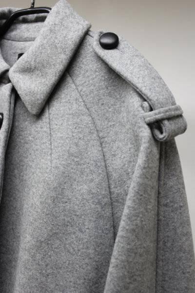 ISABEL MARANT 【60%OFF】襟付ボンディングハーフコート