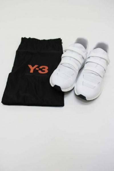 Y-3 【50%OFF】ラバーゴムベルクロスニーカー[ZAZU]