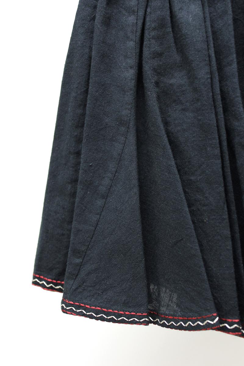 ISABEL MARANT ETOILE 【50%OFF】コットン刺繍ラインミニスカート