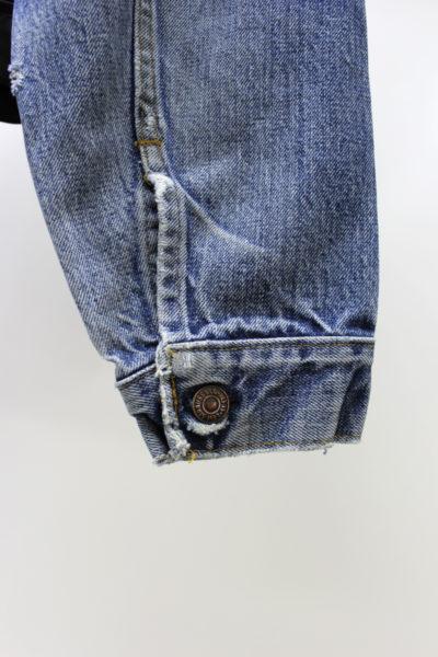 HARVEY FAIRCLOTH ヴィンテージデニム裾切替ジャケット【18SS】
