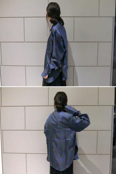 Christian Wijnants シルク総柄レギュラー長袖シャツ【18SS】