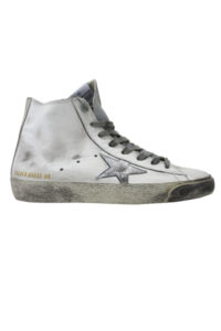 GOLDEN GOOSE DELUXE BRAND レザーハイカットスニーカー [FRANCY / WHITE SILVER LEATHER] (LADIE'S) [17AW]