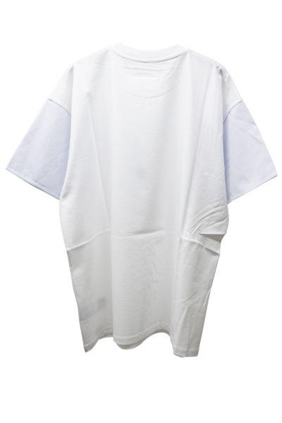 MM6 MAISON MARGIELA 袖ストライプT-シャツ [18SS]