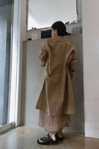 ISABEL MARANT 【V】ナイロンベルト付きBIGコート [18SS]
