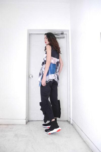 STELLA McCARTNEY 裾フリルイージーパンツ【18SS】