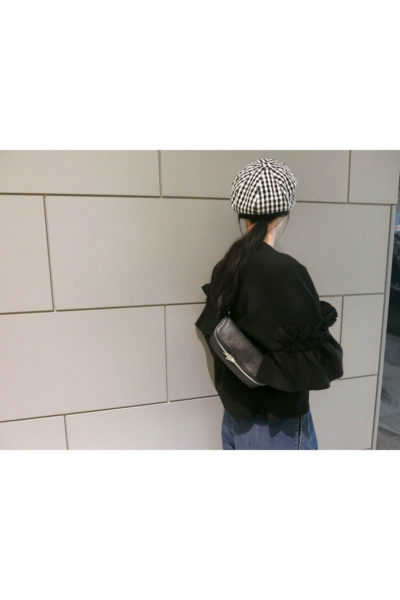 KIJIMA TAKAYUKI ギンガムチェックキャスケット[18SS]