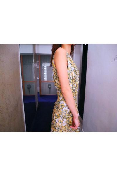 ISABEL MARANT 【V】ビスコースシルク花柄マキシワンピース [18SS]