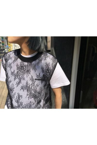 OFF-WHITE 【40%OFF】レーススリーブレストップス【18SS】