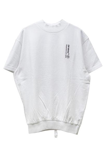 OFF-WHITE ハイネック裾リブTシャツ【18SS】