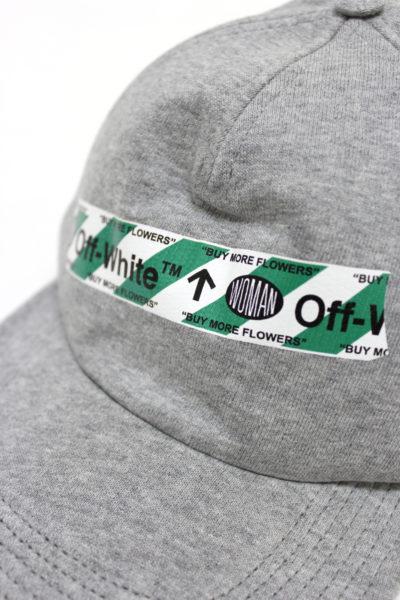 OFF-WHITE ロゴテープスウェットキャップ【18SS】