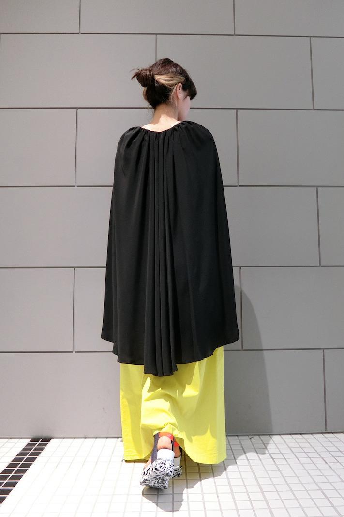 MARNI 【50%OFF】ポンチョ風フレアーワンピース