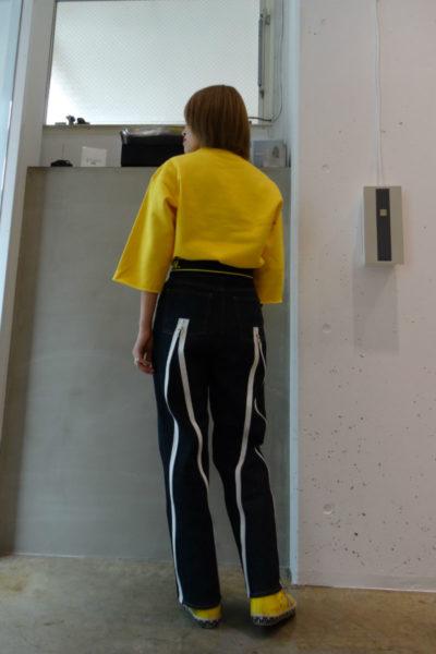 GOLDEN GOOSE DELUXE BRAND バックシップハイウエストデニム【18SS】