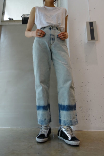 GOLDEN GOOSE DELUXE BRAND 80's WASHハイウエストデニム【18SS】