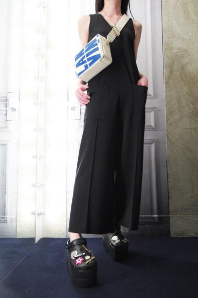 GOLDEN GOOSE DELUXE BRAND フロントポケットセンターシームオールインワン【18SS】