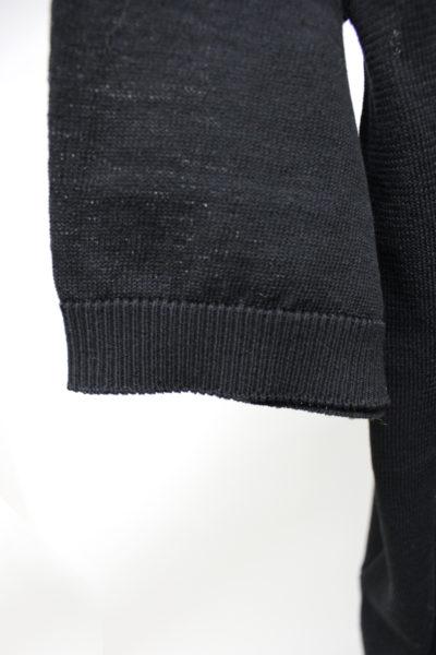 GOLDEN GOOSE DELUXE BRAND バックロゴ半袖ポロニット【18SS】