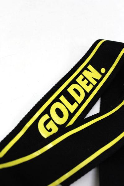 GOLDEN GOOSE DELUXE BRAND ロゴネックストラップ【18SS】
