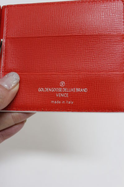 GOLDEN GOOSE DELUXE BRAND GOLDEN クリップカードケース【18SS】