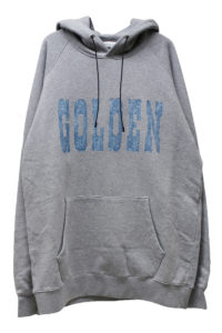 GOLDEN GOOSE DELUXE BRAND フロントロゴビッグフーディー【18SS】