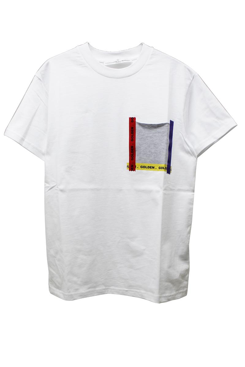 テーピングポケットTシャツ【18SS】