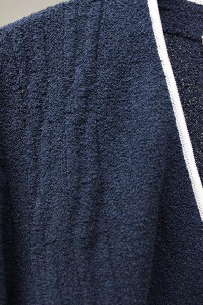 GOLDEN GOOSE DELUXE BRAND フロント刺繍パイピングカーディガン【18SS】