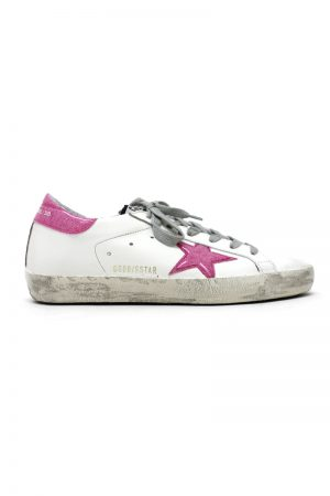 GOLDEN GOOSE DELUXE BRAND 【50%OFF】ラメビニールスターローカットスニーカー[SUPERSTAR](LADIE'S)【18SS】