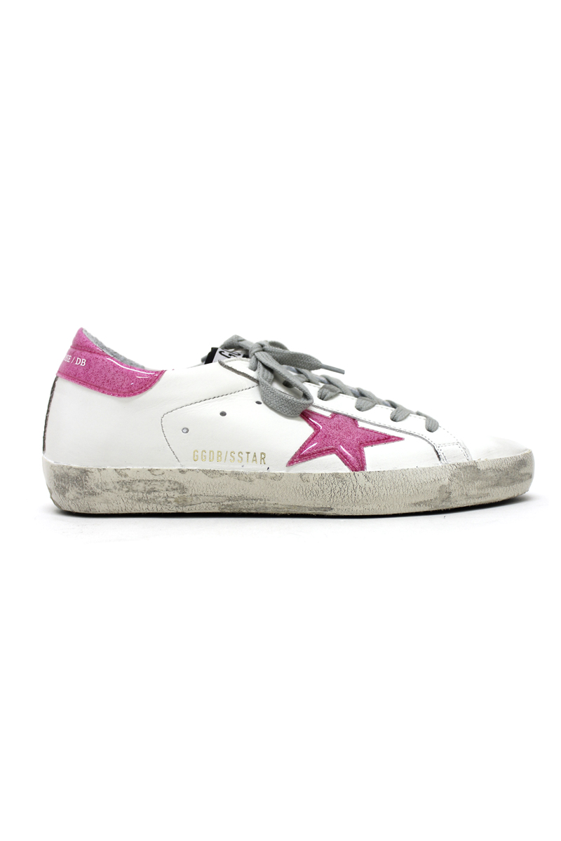 GOLDEN GOOSE DELUXE BRAND ラメビニールスターローカットスニーカー[SUPERSTAR](LADIE'S)【18SS】