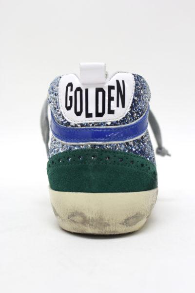 GOLDEN GOOSE DELUXE BRAND グリッター×スウェードミドルカットスニーカー[MID STAR](LADIE'S)【18SS】