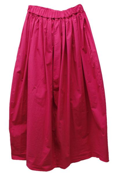 HACHE 【MOGGIE CO-OP別注】コットンギャザーロングスカート [18SS]