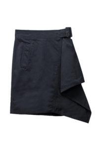 3.1 PHILLIP LIM 【FAMILY SALE - 70%OFF】ベルト付きコットンアシンメトリースカート