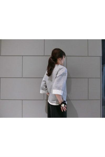 GOLDEN GOOSE DELUXE BRAND フラワープリントカットオフスウェットトップス【18SS】