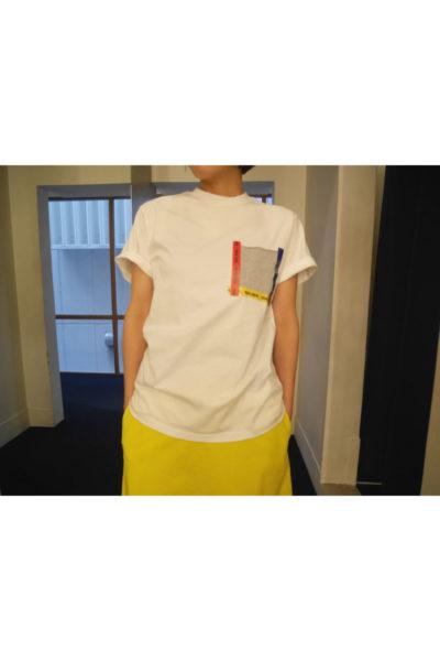 GOLDEN GOOSE DELUXE BRAND テーピングポケットTシャツ【18SS】