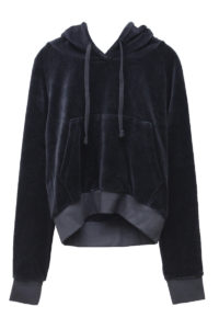 VETEMENTS 【FAMILY SALE - 80%OFF】ベロアショート丈フーディー(Juicy couture)