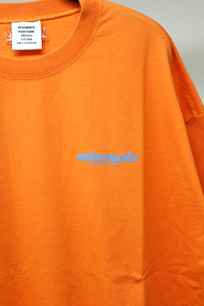 VETEMENTS FIBEROPTIC Tシャツ [18SS]