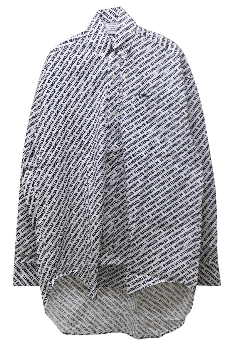 モノグラムオーバーサイズシャツ【18SS】