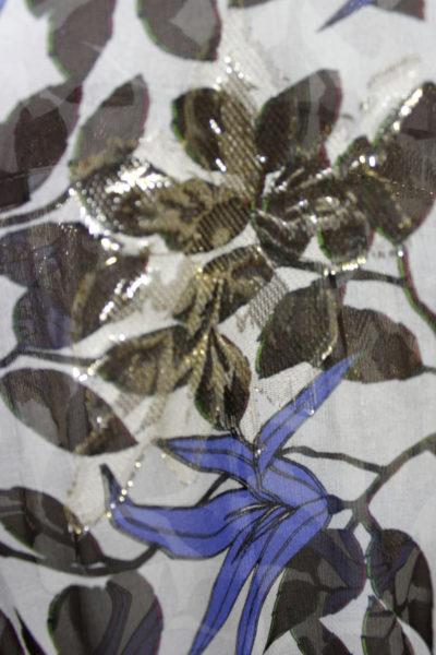 Christian Wijnants 【40%OFF】ラメジャガード花柄ノースリーブロングワンピース