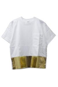 REKISAMI 箔プリントTシャツ【18SS】